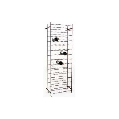 casier bouteilles 75 places metal 50x150x26 cm p le vert. Black Bedroom Furniture Sets. Home Design Ideas