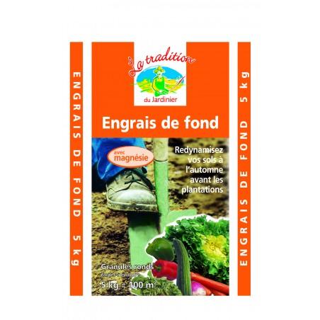 ENGRAIS DE FOND 5KG 00/10/30+6 MGO