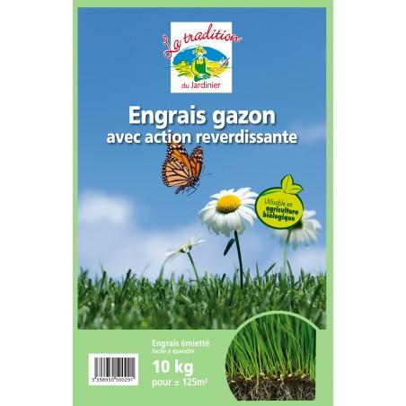 ENGRAIS GAZON BIO 10 KG