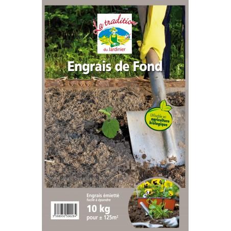 ENGRAIS DE FOND BIO 10 KG