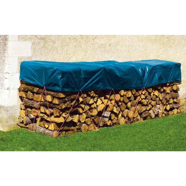 bache bois 2x8m 80g m2 p le vert cugnaux. Black Bedroom Furniture Sets. Home Design Ideas