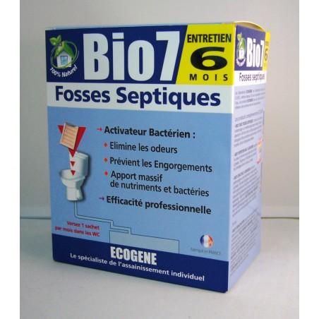 ENTRETIEN FOSSE BIO7 480G  6 sachets