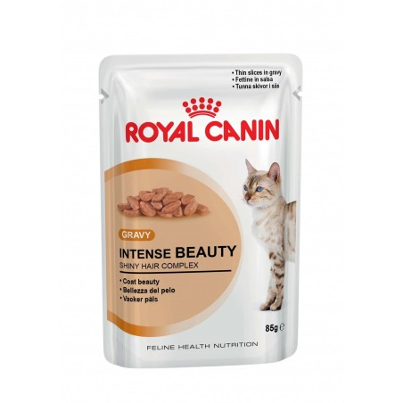 ALIMENT HUMIDE CHAT INTENSE BEAUTY 12X85G ROYAL CANIN