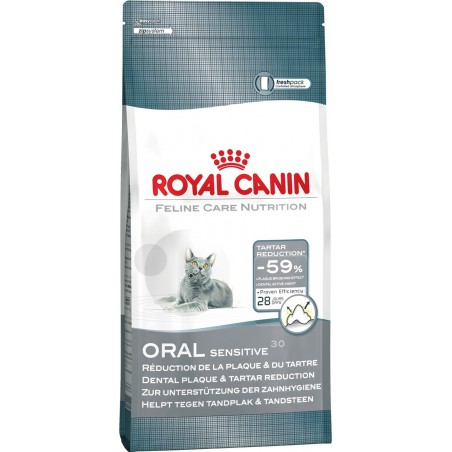 CROQUETTES CHAT ORAL CARE 400GR ROYAL CANIN