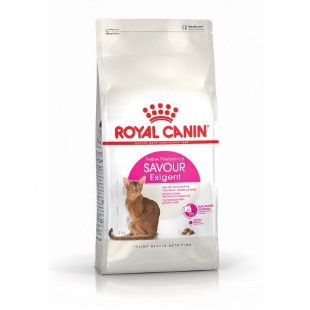 CROQUETTES CHAT SAVOUR EXIGENT 400G ROYAL CANIN