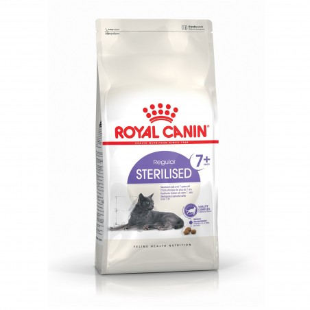 CROQUETTES CHAT STERILISED 7+ 400G ROYAL CANIN