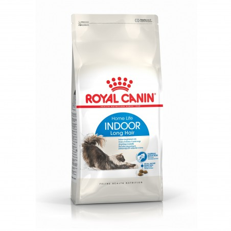 CROQUETTES CHAT INDOOR LONG HAIR  400G ROYAL CANIN