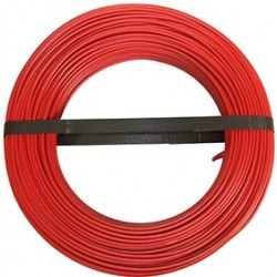 CABLE HO7 VR 6 BOB.100M ROUGE