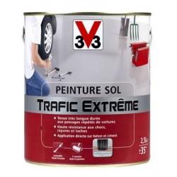 PEINTURE SOL TRAFIC EXTREME 2.5 L GRIS FONCE