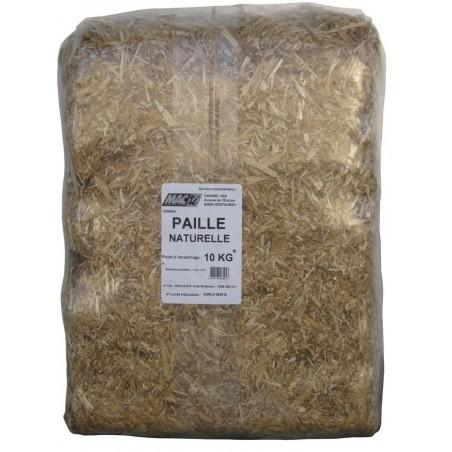 PAILLE NATURELLE 10 KG