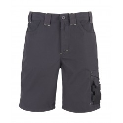 SHORT COURT HUGUES GRIS /NOIR T 38