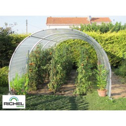 ABRI DE CULTURE RICHEL 3X8M TUBE 32MM 200MI SANS PORTE