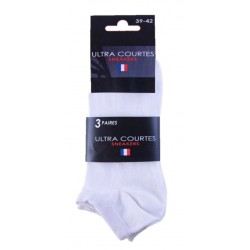 CHAUSSETTES SNEAKERS UNIS X3