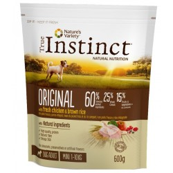 ALIMENT CHIEN ORIGINAL MINI ADULT CHICKEN 600G