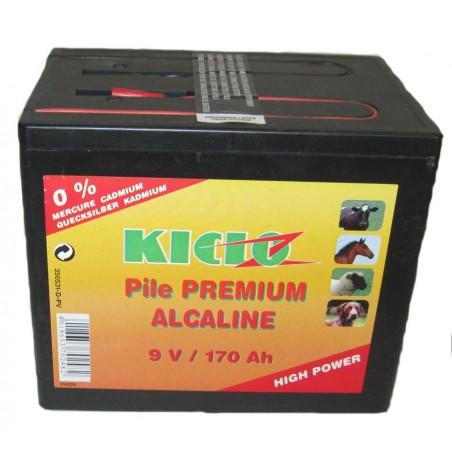 PILE CLOTURE 9V 170AH PREMIUM