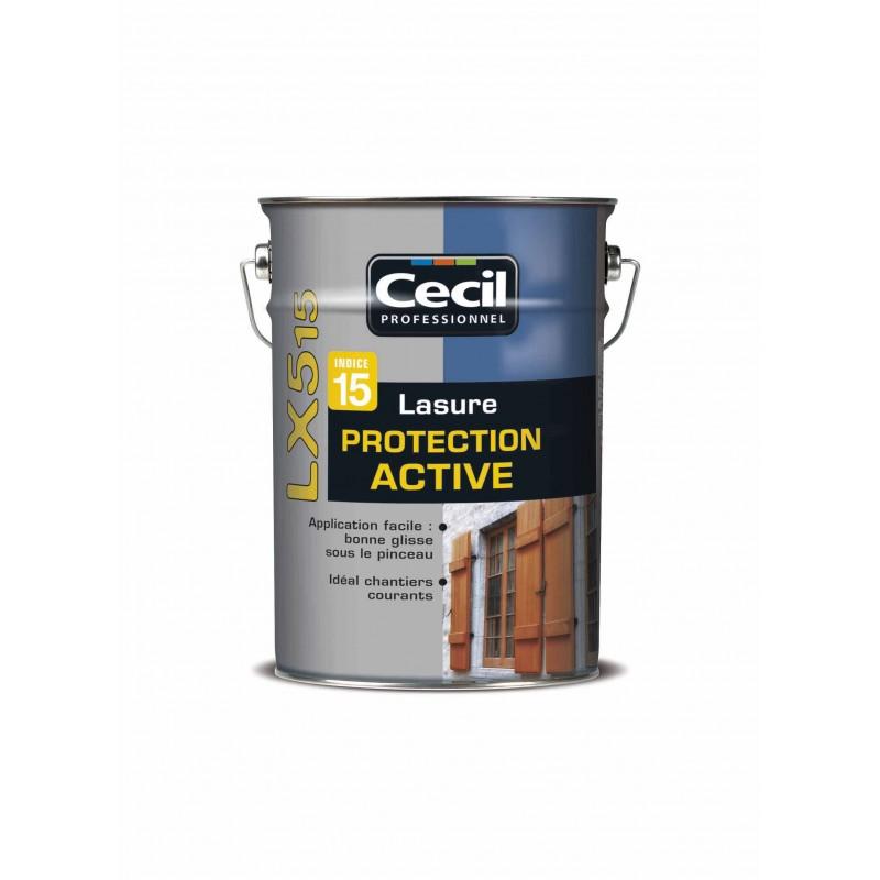 lasure protection active lx515 5l chene pole vert evreux. Black Bedroom Furniture Sets. Home Design Ideas