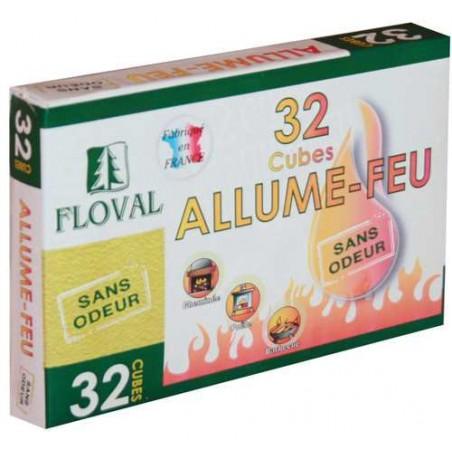 ALLUME FEU ETUI 32 CUBES