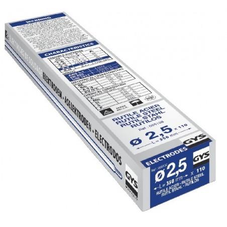Pack de 110 Électrodes rutiles Ø 2.5 mm