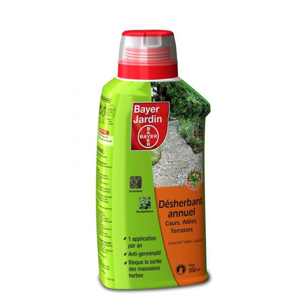 Desherbant liquide 600ml pole vert evreux - Desherbant total puissant chlorate de soude ...