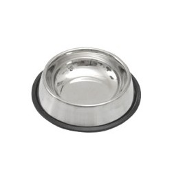 Gamelle inox support caoutchouc 2800 ml