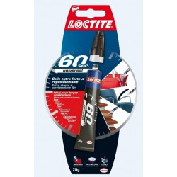 COLLE LOCTITE MUTI USAGE 60 SECONDES 20G