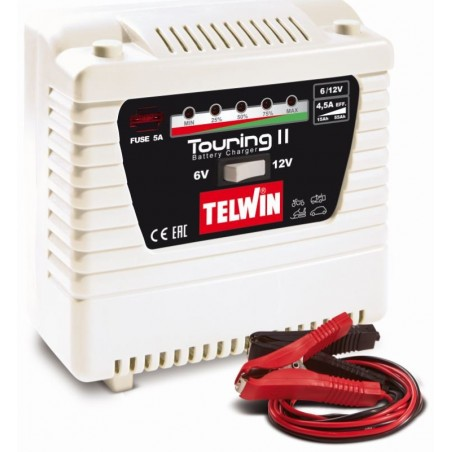 CHARGEUR BATTERIE 6-12V TOURING 11