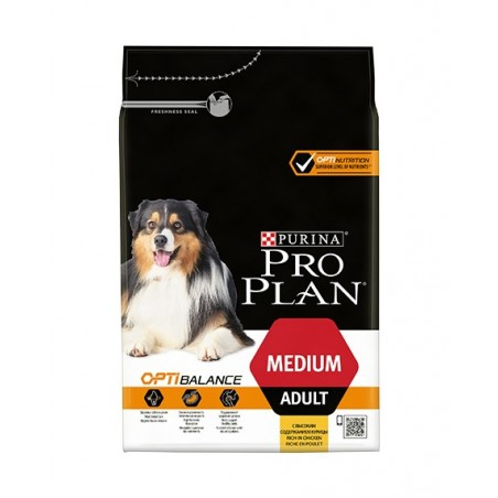 CROQUETTES PROPLAN CHIEN MEDIUM ADULT 14KG PURINA