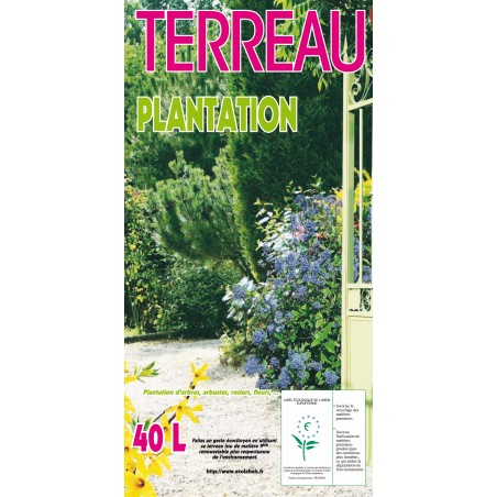 TERREAU PLANTATION ECOLABEL 40 L