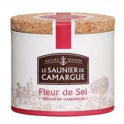 FLEUR DE SEL DE CAMARGUE BOITE RONDE 125 G
