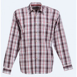 CHEMISE MAELO ML 60% COT. 40% POLY.