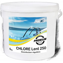 CHLORE LENT 90  250G MACXI 5KG