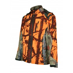 BLOUSON CHASSE SOFTSHELL GHOST CAMO