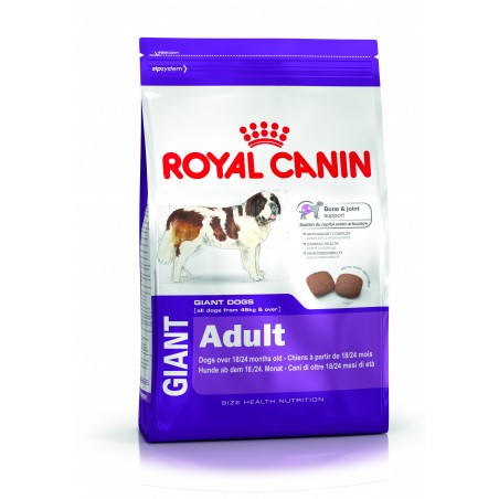CROQUETTES CHIEN GIANT ADULT 15KG ROYAL CANIN