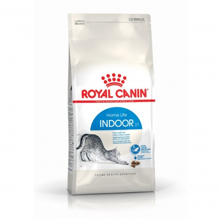 CROQUETTES CHAT INDOOR 27 2KG ROYAL CANIN