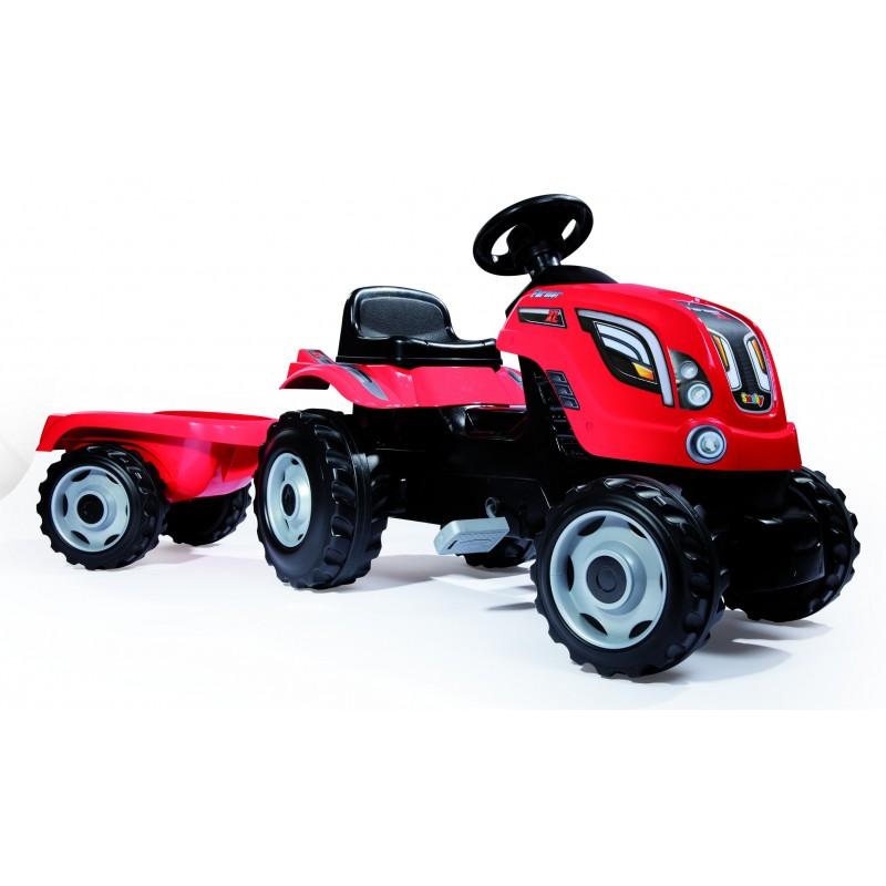 L 45 cm Jouet tracteur tractopelle Vert