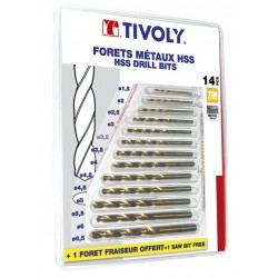 BLISTER 13 FORETS METAUX HSS