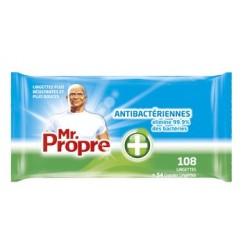LINGETTES ANTIBACTERIENNES MR PROPRE (X108)
