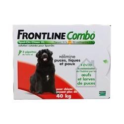 FRONTLINE COMBO CHIEN 40 60 KG X3