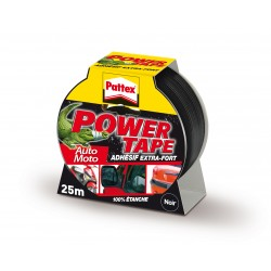 ADHESIF POWER TAPE GRIS 25MX50MM
