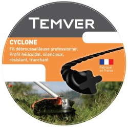 FIL NYLON TEMVER CYCLONE 2.4MM X 88M