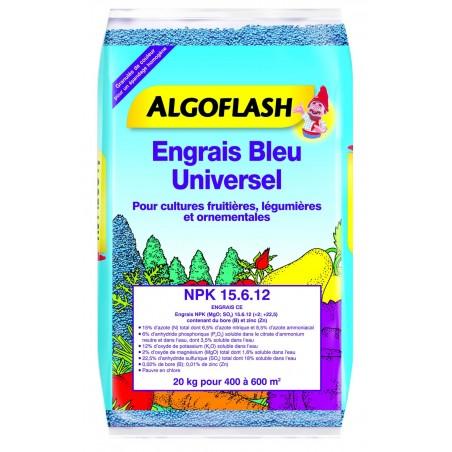 ENGRAIS BLEU UNIVERSEL ALGOFLASH 20 KG