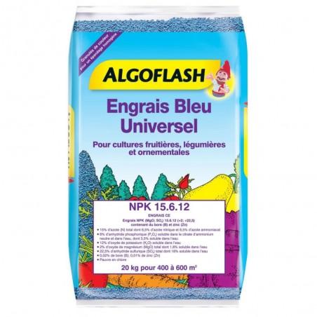 ENGRAIS BLEU UNIVERSEL ALGOFLASH 10 KG
