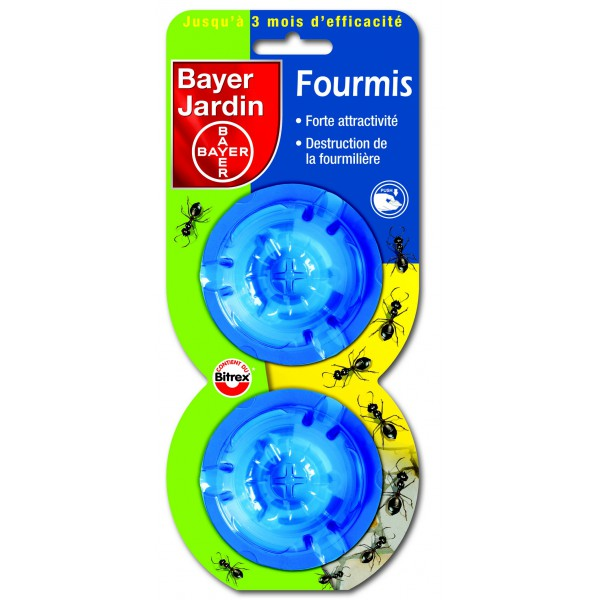 Anti fourmis lot 2 boites p le vert gannat for Bayer jardin produits insecticides