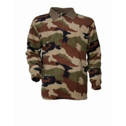 SWEAT POLAIRE CAMOUFLE