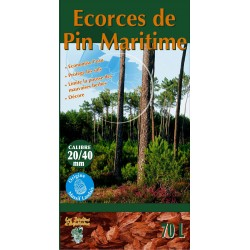 ECORCES DE PIN 20/40 70 L QUALITE ++