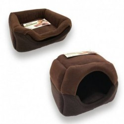 CORBEILLE IGLOO POUR CHAT 42X38X18CM