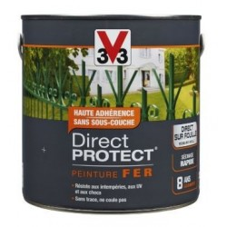 PEINTURE FER-DIRECT PROTECT BRILLANT - ANTHRACITE 250ML V33