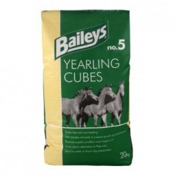 ALIMENT CHEVAL YEARLING CUBES 20KG