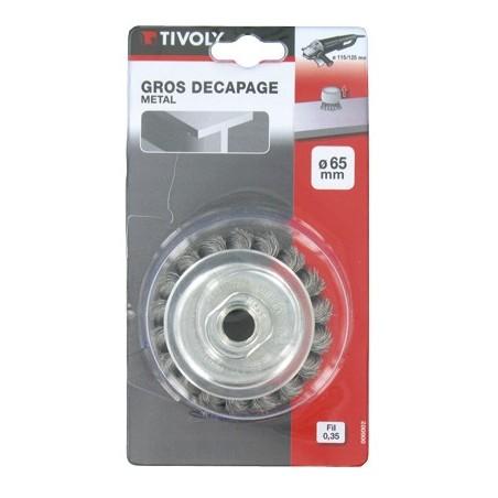 BROSSE COUPE D65 M14 MECH.TORS.0.35