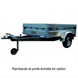 REMORQUE BAG.TV200 FR 200X134X45 BASCUL.PTAC 750KG